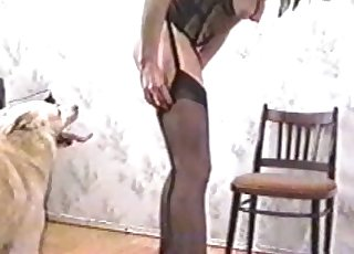 Amazing MILF is the true star of this close up video